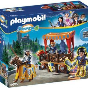 Playmobil Super 4 Kuninkaallinen saattue ja Alex