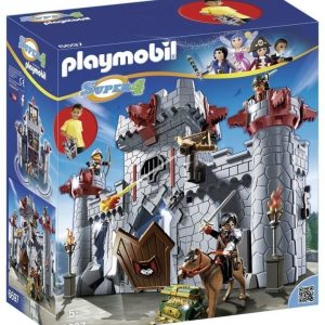 Playmobil Super 4 Mustan Paronin linna Take Along