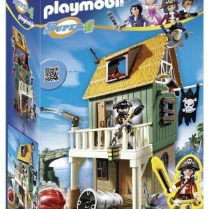 Playmobil Super 4 Naamioitu merirosvolinnoitus
