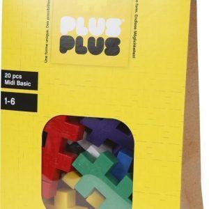 Plus Plus Rakennussarja Midi Basic 20 osaa