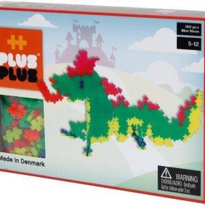 Plus Plus Rakennussarja Mini Basic Lohikäärmeet 360 osaa
