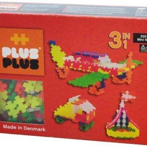 Plus Plus Rakennussarja Mini Neon 3 in 1 220 osaa