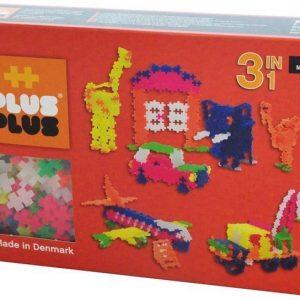 Plus Plus Rakennussarja Mini Neon 3 in 1 480 osaa