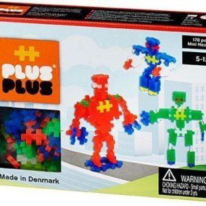 Plus Plus Rakennussarja Mini Neon Robotit 170 osaa