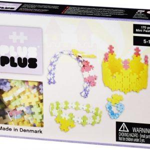 Plus Plus Rakennussarja Mini Pastel Jalokivet 170 osaa