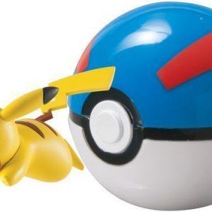 Pokémon Clip 'n' Carry Ball Pikachu + Great Ball