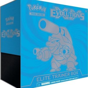Pokémon Poke XY12 Evolutions Elite Trainer Sininen