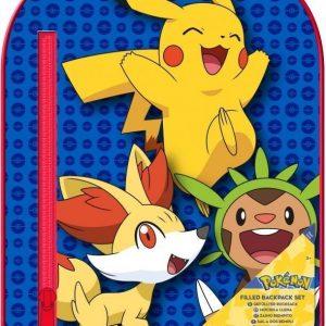 Pokémon Reppu sekä piirustustarvikkeet