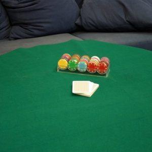 Pokerikangas 180x90 cm