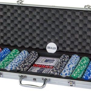 Pokerisetti 500 merkkiä