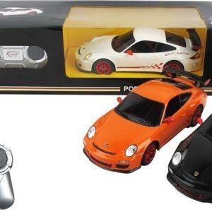 Porsche GT3 RS Radio-ohjattava auto Oranssi 1:24