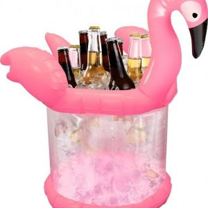 Puhallettava Flamingo Ice Bucket
