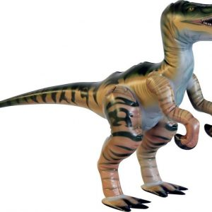 Puhallettava velociraptor 38 cm