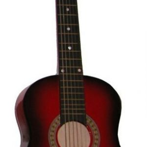 Puinen kitara Kuusikielinen Ruskea 80 cm