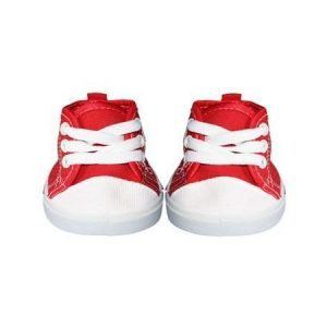 Punaiset tennarit 40 cm