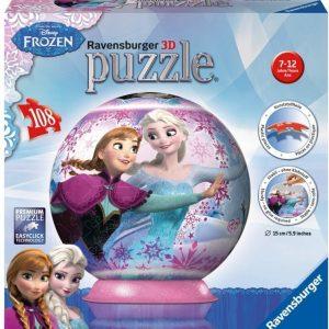 Ravensburger 3D Palapeli Disney Frozen 108 palaa