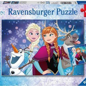 Ravensburger Palapeli Disney Frozen Northern Lights 2 x 24 palaa