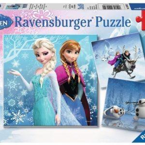 Ravensburger Palapeli Disney Frozen Winter Adventure 3 x 49 palaa