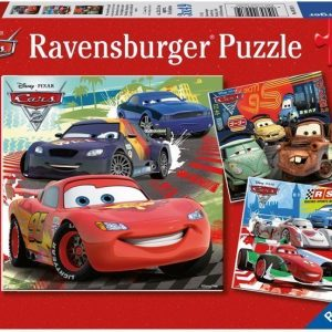Ravensburger Palapeli Disney Pixar Cars Worldwide Racing Fun 3 x 49 palaa