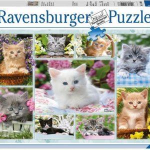 Ravensburger Palapeli Kissat 500 palaa