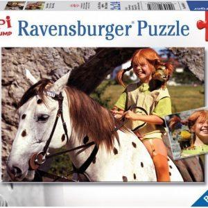 Ravensburger Palapeli Peppi Pitkätossu 2 x 24 palaa