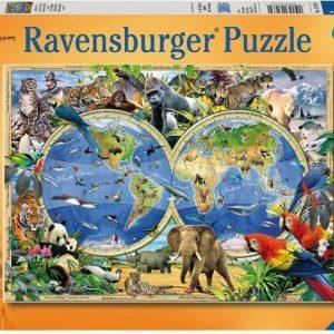 Ravensburger Palapeli World of Wildlife 300 palaa