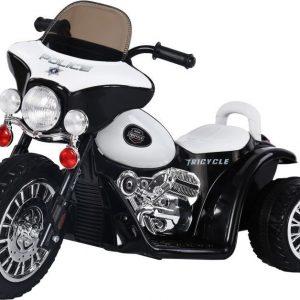 Sähkömoottoripyörä 3-pyöräinen Musta