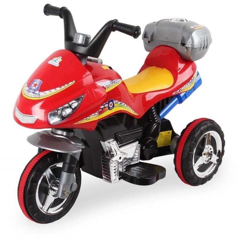 Sähkömoottoripyörä Punainen