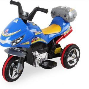 Sähkömoottoripyörä Sininen