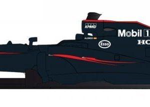 Scalextric Mclaren F1 2015