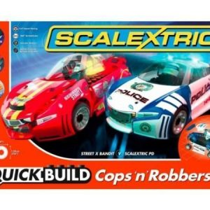 Scalextric Quick Build Cops'N'Robbers autorata