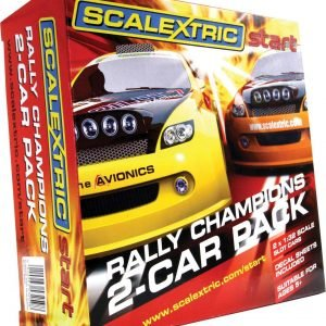 Scalextric Start Rally Autopakkaus 2 Kpl/Pkt