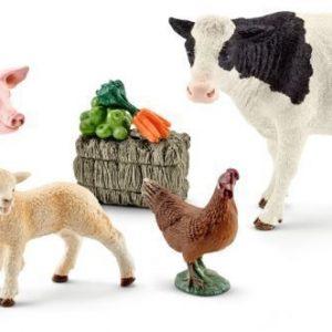 Schleich Ensimmäiset maatilan eläimeni
