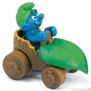 Schleich Smurffi autossa