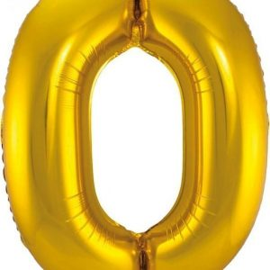 Sifferballong Guld 1