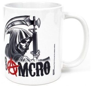 Sons of Anarchy Samcro Reaper muki