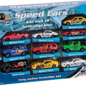 Speed Set Autot 10 kpl Urheiluautot