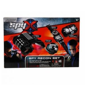 Spyx Recon Vakoilusetti 4 Osaa