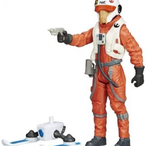 Star Wars E7 Single Figures Snow/Desert X-Wing Pilot Asty 9