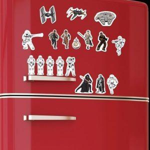 Star Wars Ep7 -jääkaappimagneetit
