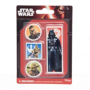 Star Wars Pyyhekumit 4 Kpl/Pkt