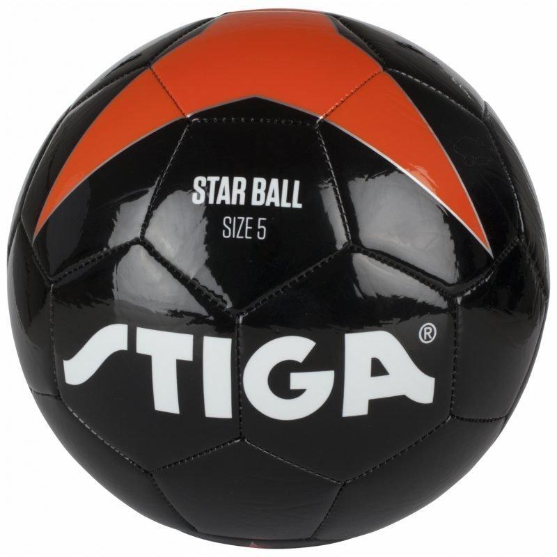 Stiga Jalkapallo Virallinen koko. Musta/Oranssi