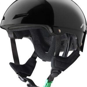 Stiga Kypärä Play Helmet vihreällä soljella Musta