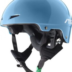 Stiga Kypärä Play Helmet vihreällä soljella Sininen