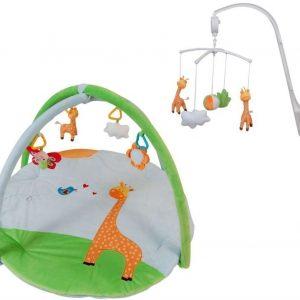 Stoy Baby Musiikkimobile + Vauvajumppa Kirahvi Paketti