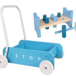 Stoy Baby Taaperokärry + Hakka Sininen Paketti