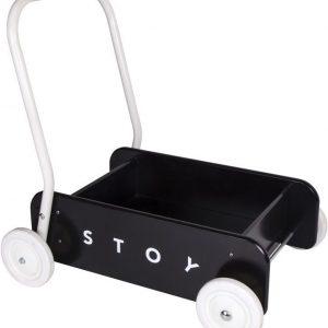 Stoy Baby Taaperokärry Musta