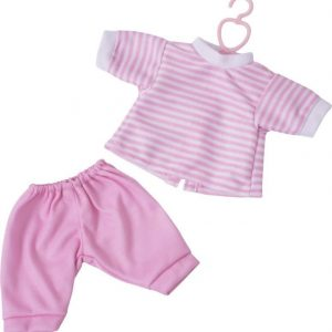 Stoy Dolls Nukenvaatteet Pusero ja housut Vaaleanpunainen 30 cm