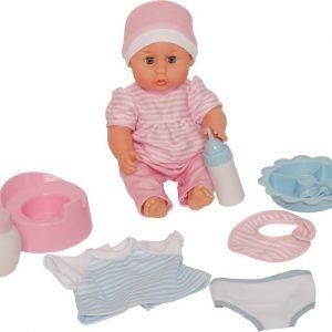 Stoy Dolls Nukke tarvikkeineen 30 cm