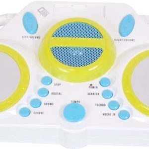 Supersonic DJ:n miksauspöytä